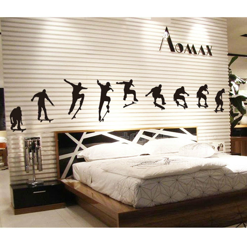 Skateboard Bedroom Compare Prices On Skateboard Room Decorations Online Shopping Buy