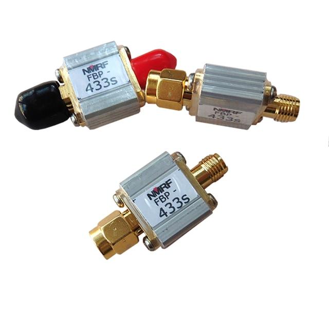 433 MHz controle remoto modelo de aeronave bandpass filtro 433 M de largura de banda de transmissão de imagem aérea 8 MHz