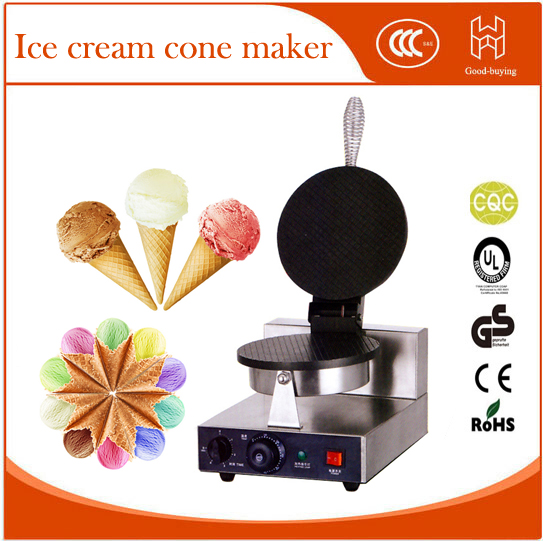 Resaurant ice cream maker waffle machine cake Electric Ice Cream Cone Baker Maker