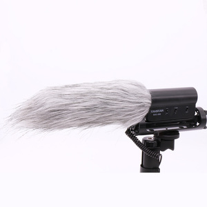 Image 5 - Ulanzi מיקרופון שמשה קדמית פרוותי רוח ידונית מת חתול עבור RODE VideoMic ללכת/Takstar SGC 598/MIC 01/Comica v30 לייט