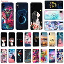 Lavaza Space Moon Hard Phone Case for Apple iPhone 6 6s 7 8 Plus X 5 5S SE XS Max XR Cover