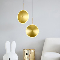Nordic Art UFO Design LED Pendant Lamp Modern Shopping Mall Clothing Store Dining Room Office Light Fixtures Free Shipping