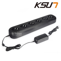 Single Row Six Way Universal Rapid Charger For Walkie Talkie Retevis Or Buxun H777 Baofeng BF