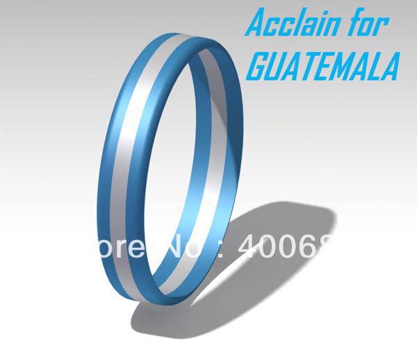 Pulseras de silicon guatemala