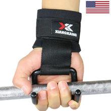 Для мужчин и женщин тяжелая атлетика перчатки Бодибилдинг Фитнес наручные обёрточная бумага тренажерный зал тренировка