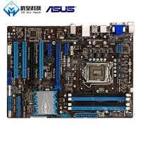 Asus P8B75-V Intel B75 Originale Utilizzato Desktop Madre LGA 1155 Core i7/i5/i3/Pentium/Celeron DDR3 32G ATX