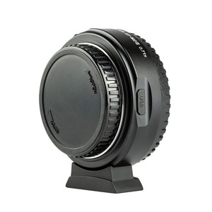 Image 4 - Viltrox EF M2 II AF Auto focus EXIF 0.71X Reduce Speed Booster Lens Adapter Turbo for Canon EF lens to M43 Camera GH4 GH5 GF6