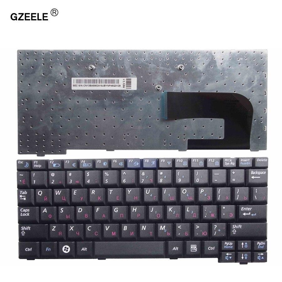 Gzeele nuevo teclado portátil para Samsung NP-NC10 NC10 ND10 N108 N110 N130 Np-N130 N140 NC310 CNBA5902419Q BA59-02419Q RU negro