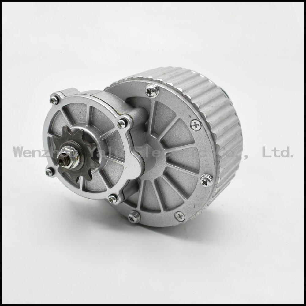 MY1018 250W24 / 36V super chlazení hliníkový tlakový odlitek Elektrický motor převodovky dveří