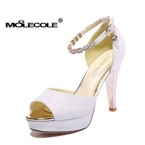 MOOLECOLE Women High Heel Sexy Party Lady Shoes Size