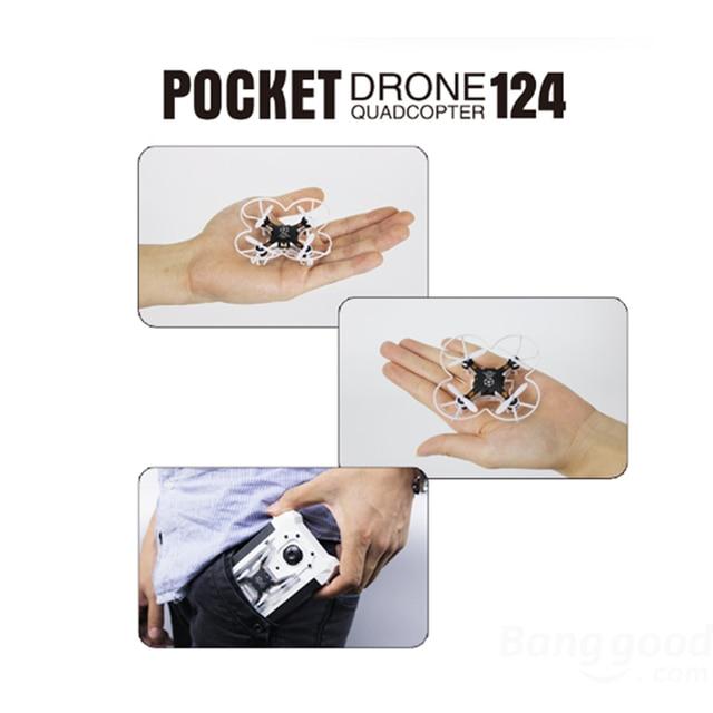 Upslon 124 Quadcopter Mini Drone RTF 2.4GHZ