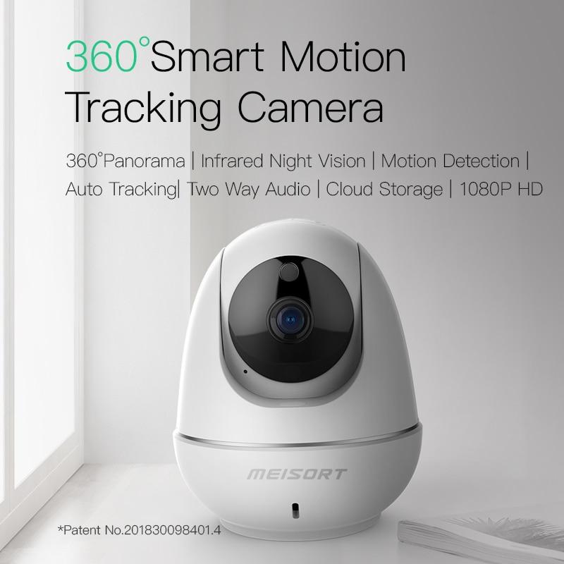 Meisort 1080P 2.0mp HD Wifi Camera Cloud Wireless IP Camera Intelligent Auto Tracking Intelligent Analysis  CCTV Surveillance