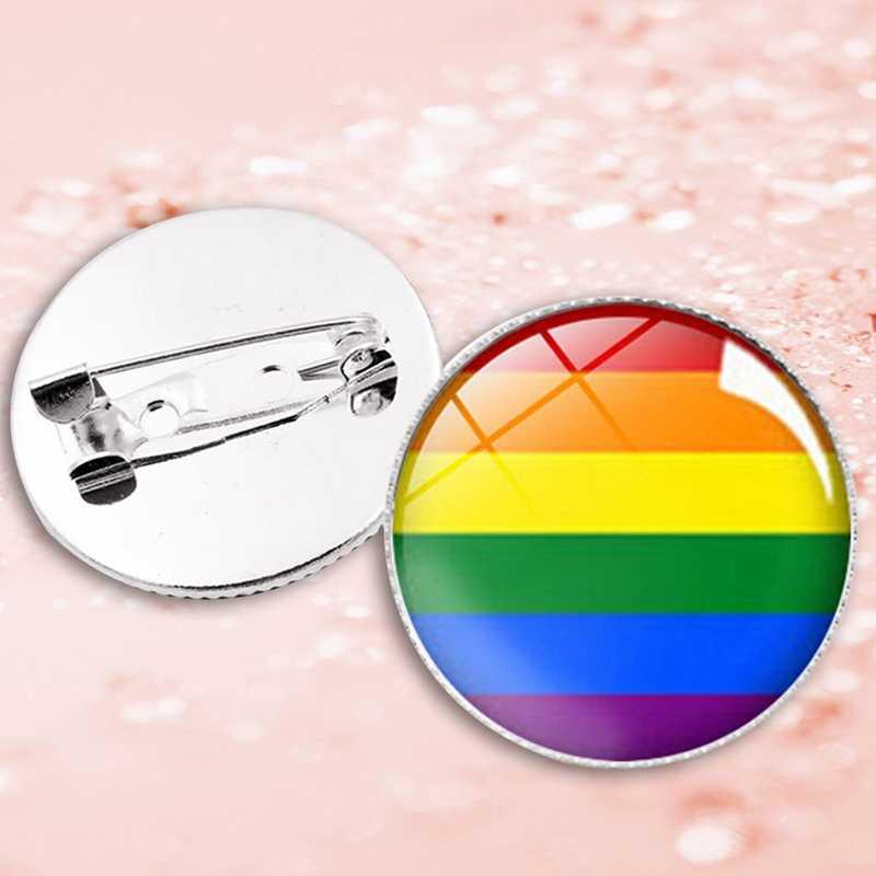 Transseksüel gurur gökkuşağı eşcinsel Intersex Asexual Pride yaka iğneler aşk biseksüel panseksüel pimleri panromantic teneke rozet