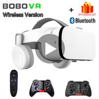 Bobo VR Bobovr Z6 Helmet 3D Glasses Virtual Reality Headset For iPhone Android Smartphone Smart Phone Goggles Lens Lunette 3 D