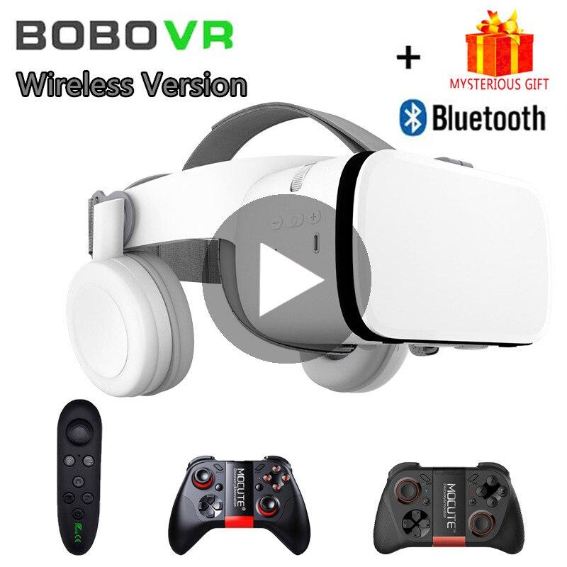 Bobo VR Bobovr Z6 Capacete 3D Óculos De Realidade Virtual de Fone de ouvido Para iPhone Android Smartphone Telefone Inteligente Óculos de Lentes Lunette 3 D