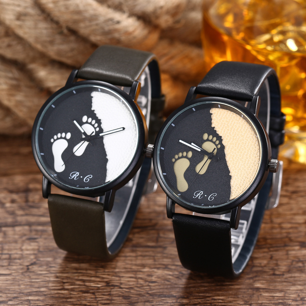 Watches Women 2018 Fashion Simple Faux Leather Analog Quartz Wrist Ladies Watch Gift Clock kevin vintage paris eiffel tower dial wrist watch women ladies girl quartz watches gift for girlfriend black strap clock hot