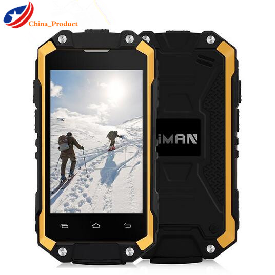 "Original IMAN X2 Mobile Phone 1G+8GB 2.45"" Android 5.1 Waterproof IP65 Dual Sim Quad Core Phone GPS Wifi 3G WCDMA OTG Super Mini"