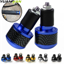 Universal Motorbike Handlebar End Plug Slider Motorcycle Counterweight Ends 7/8 Handle Bar Cap Cover