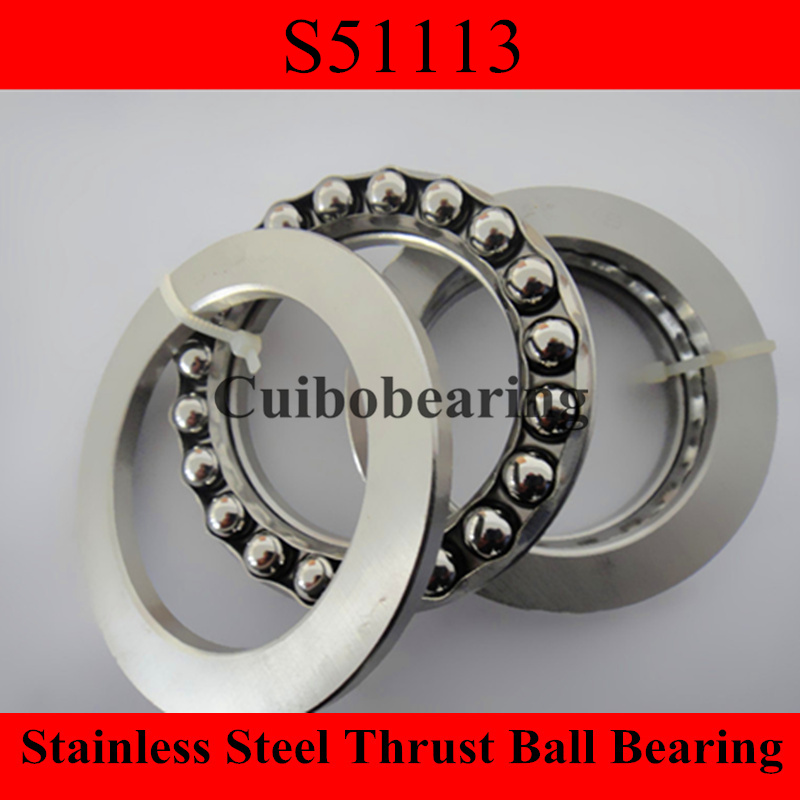 stainless steel thrust ball bearing S51113 65x90x18mm s51206 30x52x16mm 30 52 16mm stainless steel thrust ball bearing 51206