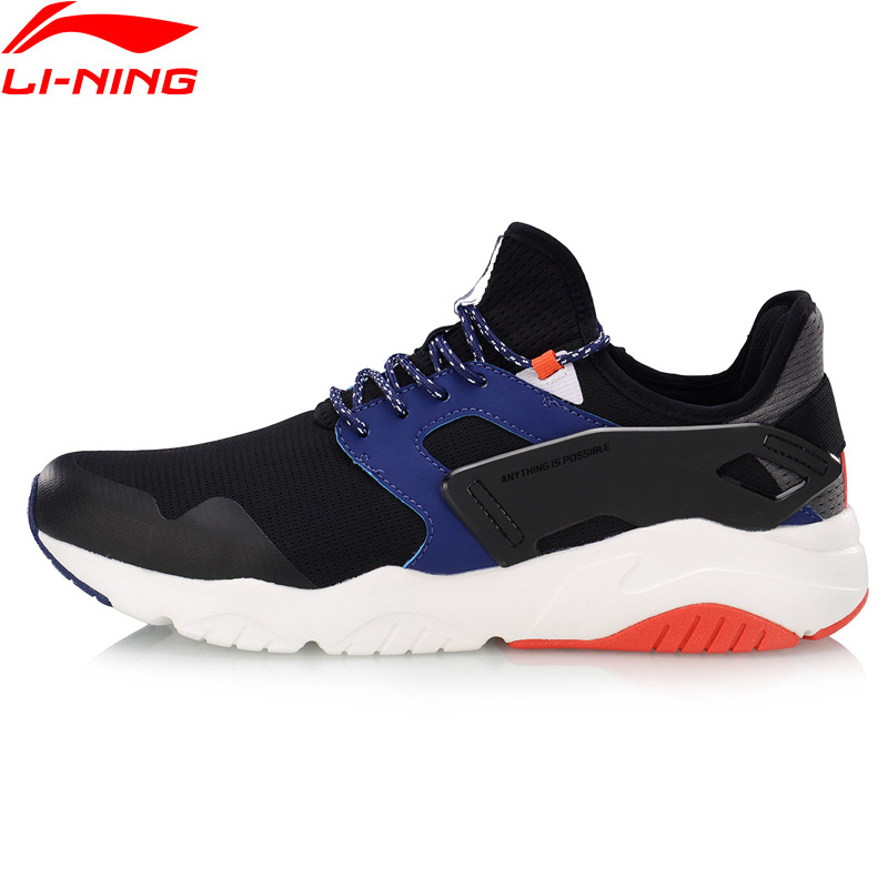 Li-Ning <font><b>Men</b></font> CARNIVAL Lifestyle <font><b>Shoes</b></font> Light Weight Comfort <font><b>LiNing</b></font> li ning Breathable Classic Sport <font><b>Shoes</b></font> Sneakers AGCP009 YXB298 image