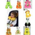Tipo U almohadas de Viaje cuello protección Almohada Cojín Del Asiento de Seguridad Infantil Contra La Migraña Bebé Cochecito Accesorios