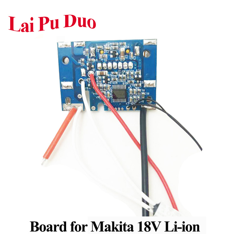 For <font><b>Makita</b></font> Li-ion BL1830 <font><b>BL1820</b></font> BL1840 BL1860 Battery Chip Board Replace Power Tool PCB Board Only image