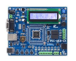 PIC MCU Learning Development Board Ethernet PIC-WEB-EK PIC18F97J60