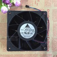 Original DELTA PFB1224EHE 12cm 12038 120*120*38MM DC 24V 1.08A Two Ball Bearing Server Cooling Fan