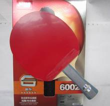 Оригинальный DHS 6002 (6002, 6 звезд) FL длинная ручка и 6006 CS короткие handl настольный теннис ракетки с случае Спортивные Крытый Спорт