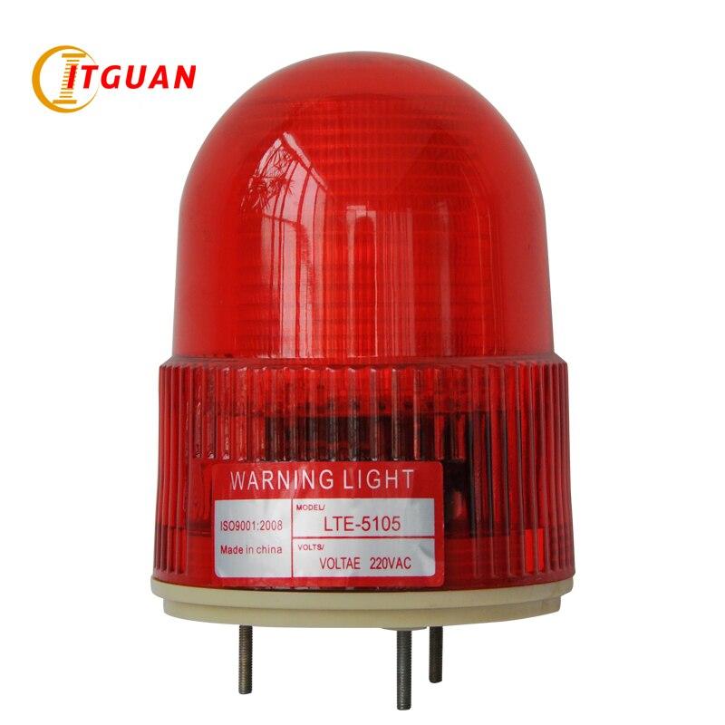 цена на LTE-5105 led warning light  AC220V  Rotary Industrial workshop Emergency Strobe Light Beacon light