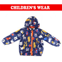Newest Baby Kids Jacket Boy Outerwear Coats Spring Autumn Children Coat For Active Boy Windbreaker Baby