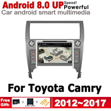 ZaiXi IPS Android 2 DIN Car GPS For Toyota Camry 2012~2017 Navigation multimedia player HD Screen Stereo radio WiFi Bluetooth idoing 10 2 ips 2 5d 4gb 64gb 1din android8 0 car radio multimedia gps player for toyota camry v55 2015 2017 8core fast boot