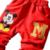 3 Unidades de Ropa Para Niños Set Otoño Invierno 2017 Nuevo Algodón de Manga Larga Con Cremallera chicos Boby Ropa Mickey Capa Con Capucha T2222