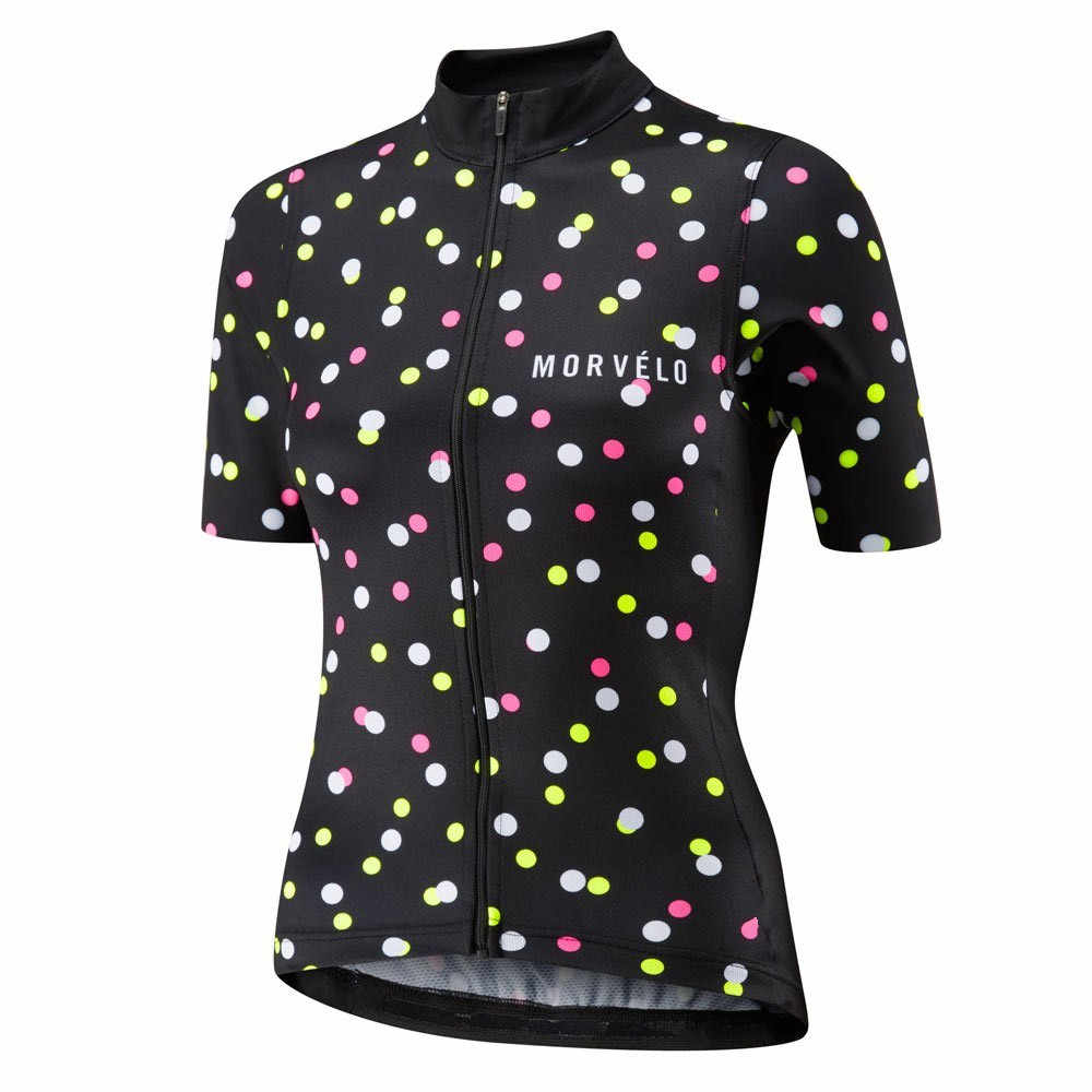 נשים בנות Morvelo קיץ קצר שרוול אופניים רכיבה על אופניים ג 'רזי כביש MTB אופני חולצה חיצוני ספורט Ropa סיטונאי חולצות