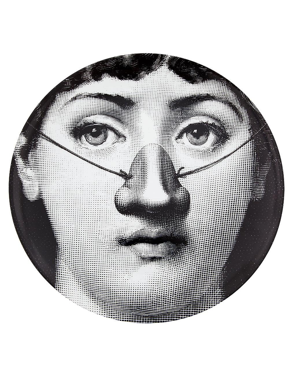 Decorative Face Plates Cool 7 Inch Fornasetti Plate Desktop Decorative Craft Plates Beauty Review