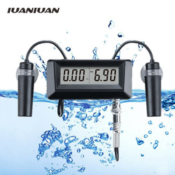 Tester miernika przewodności 2 w 1 PH i EC ATC  ph 0.00 14.00  monitorowanie jakości wody  do akwarium  staw 20% taniej w Mierniki pH od Narzędzia na