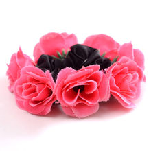 Fashion Sweet Headband Cloth Women Headdress Flower 2019 Hair Garland Headband Floral Wreath Hairband Girls Hair Accessories(China)