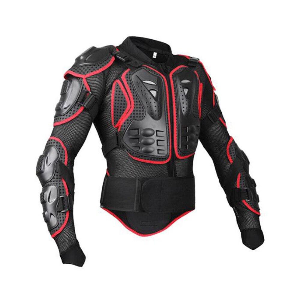 Moto Veste armure protectrice vélo Moto Motocross protecteur vêtements gilet pare-balles motocross veste en jersey