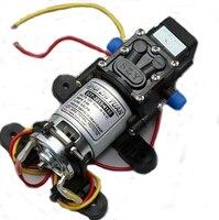 12V DC 4L/min 45w 100 PSI Micro Electric Diaphragm Automatic Switch High Pressure Car Water Pump