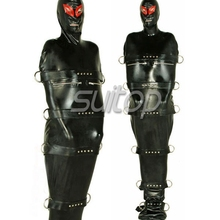 nature rubber latex fashion catsuit for man in 0.6mm thickness SM SUITOP COSPLAY