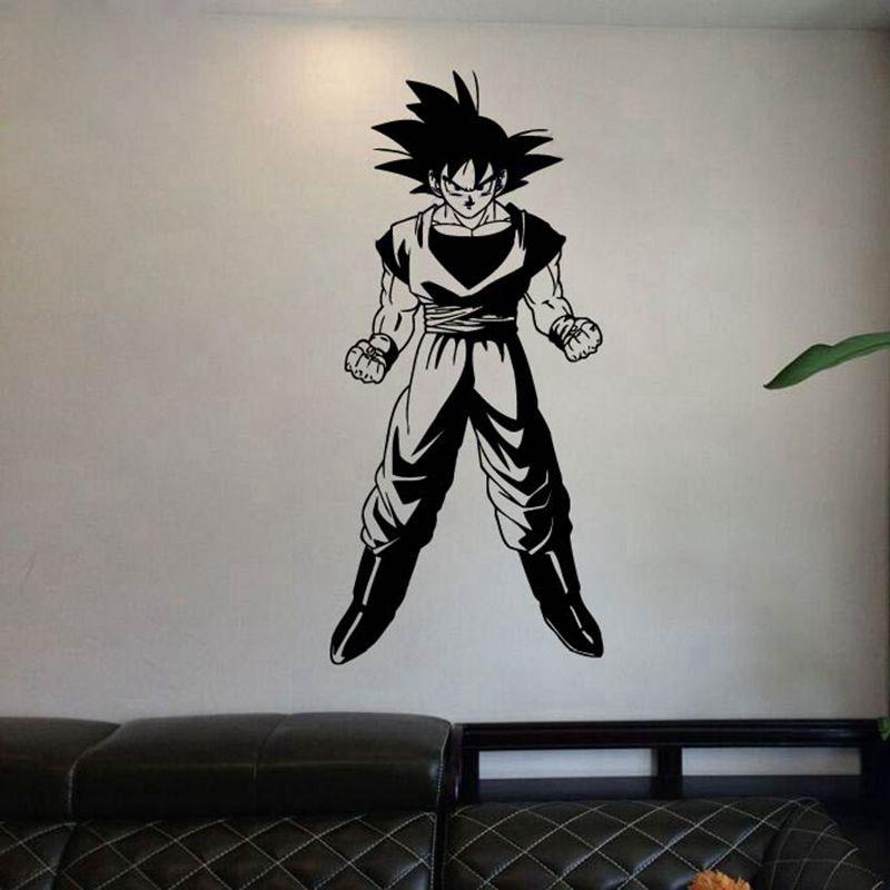 Δωρεάν αποστολή Dragon Ball Z Goku Anime Manga Decor - Διακόσμηση σπιτιού - Φωτογραφία 2