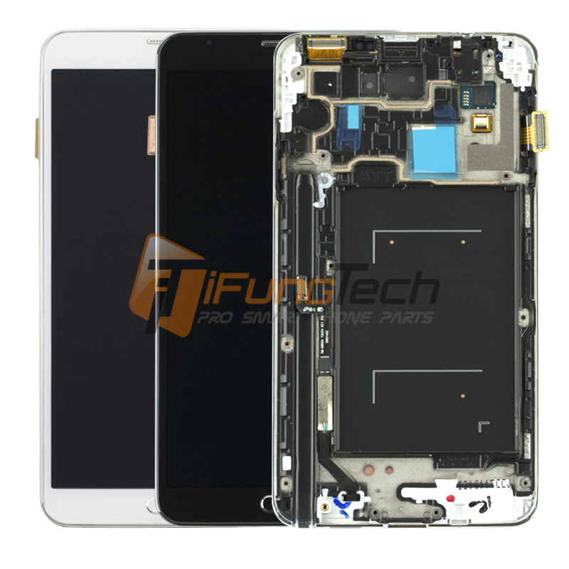 100% Original For Samsung Galaxy Note 3 N9005 LCD Display Screen Replacement With Frame Digitizer Assembly Free Shipping