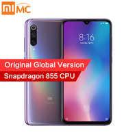 Version originale mondiale Xiao mi mi 9 6GB 64GB Snapdragon 855 48MP AI Triple caméra téléphone portable empreinte digitale sans fil charge NFC