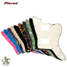 Pleroo Customizeiont Pickguard - For MIJ Jazzmaster Guitar Pickguard with PAF Humbucker NO upper horn holes цена