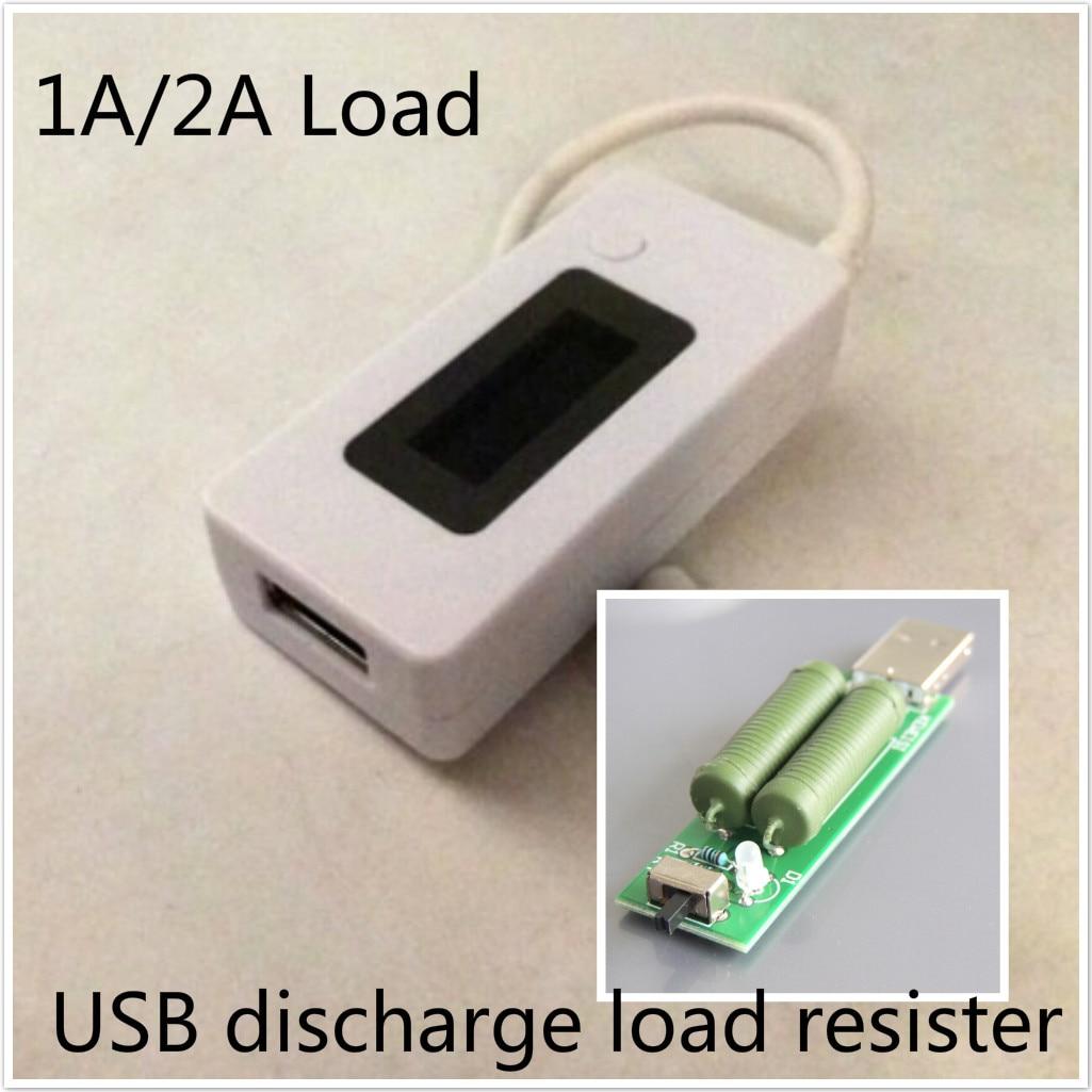 USB Pantalla LCD Cargador de Batería de la Energía Bank Tester Monitor Portátil