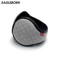 Brand New Winter Knitted Earmuffs For Men Women Foldable Ear Warmers Ear Bag Adjustable Warm Plush