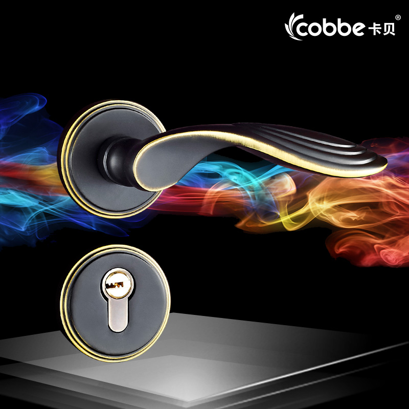 Universal Split Lock Passage set Locks Indoor Bedroom Door Black Wood Door Simple Solid Wood Door Locks split door lock indoor bedroom aluminum doors locks handle american style solid wood