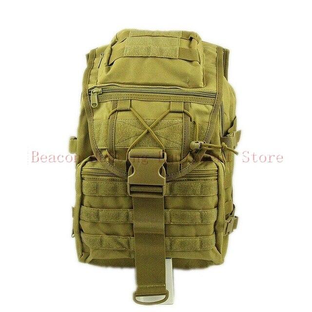 DUTOLE Ourdoor Pria Trekking Bag Militer 3 P Taktik Tahan Air Molle Ransel Knapsack Wanita Cordura Assault Bag Si Ransel Besar