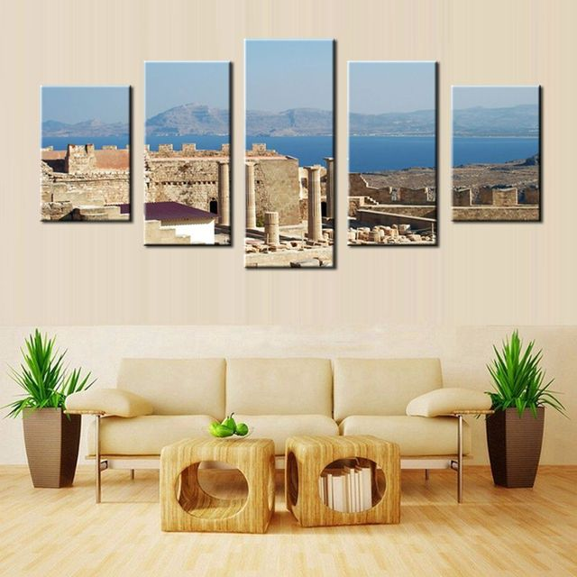 New Arrival European Architectural Historical Sites Picture Home