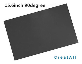 50sheet 15.6inch LCD LED polarized display film for laptop notebook screen 90degree